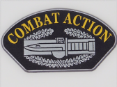 UNITED STATES ARMY COMBAT ACTION 3D EFFECT FRIDGE MAGNET